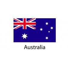 Australia Flag sticker die-cut decals