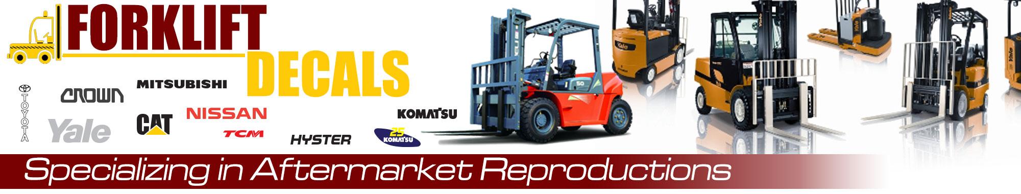 Forklift-Decals