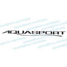 Aquasport Boat Logo Decals