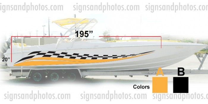 Boat Graphic 10004