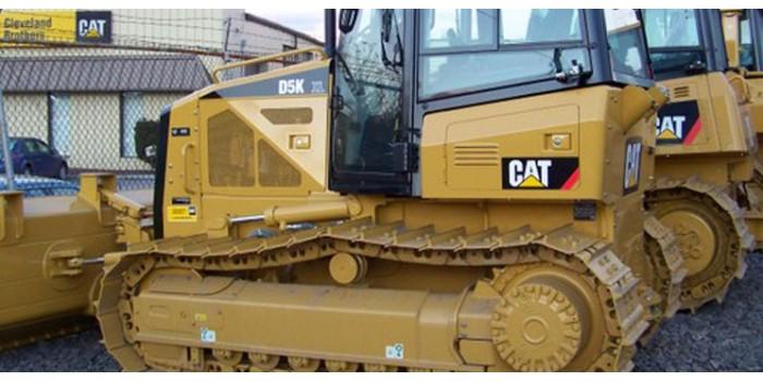Bulldozer CAT D5K XL  Decals kit
