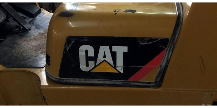 Caterpillar Vinyl Decal Forklift Kit