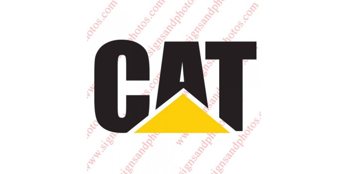 Caterpillar Cat Vinyl Decal Emblem Logo