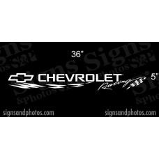 "Chevrolet Windshield Decal 5"" x 36"""
