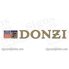 "DONZI Hulls side Logo Decal Set 6"" H"