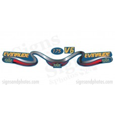 Evinrude 175HP Decal Kit