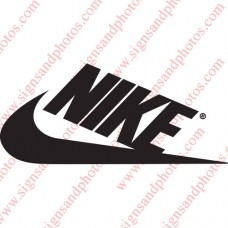 "22"" Nike  Decal Sticker Vinyl Check logo- Any Color!"