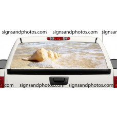 Rear Window Graphic Beach with Shell