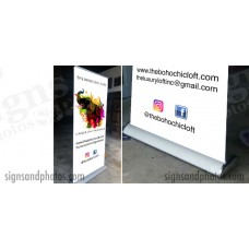 Rollup Banner + Stand
