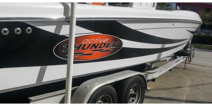 Boat Logo And Graphic Decals - Decals for boat trailers