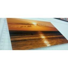 """Wall Glass Sunset Habana Cuba 16"""" x20"""""""