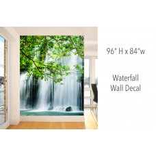 """Waterfall Wall Decals 96"""" H x 84"""" W"""